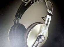 Sennheiser momentum ivory, headphones wired
