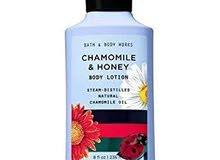 chamomile and honey bath and body works لوشن الكاموميل والعسل  من أجمل الروايح