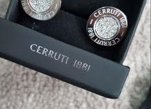 ساعه شيروتي  CERRUTI 1881 +قلم  شيروتي + كبك شيروتي