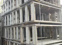 استيراد سقالات شباك ألمانية. Import of German Frame Scaffolding (17€/m²)
