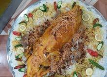 طباخ جميع انواع الرز والدجاج ولذبائح والادامات
