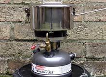 دافور كولمان الشهير533 يعمل على البنزين 92