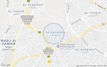 شقة ارضية بحي الصحابة رجم عميش للايجار