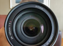 Canon Lenses EF 24-105mm f/4 L IS USM - Perfect like a new