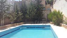 مزرعة للبيع شارع الأردن قرب مطاعم قصر الجبل