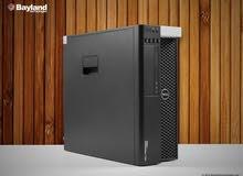 (العملاق بالضمان DELL WORKSTATION T5600 XEON E5 2660 في 2 برسيسور )