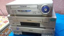 فيديو كاسيت VHS ماركة باناسونيك و LG نظيفات جدا مع الريمونت