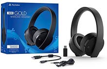 ps4 gold headset new version for sale perfect for any game
