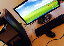 كمبيوتر منزلي جهاز نظيف وجديد