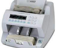 الالات عد النقود الورقية و المعدنية وكشف التزوير