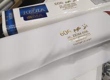 عرض خاص قماش كوري عرضين الكسوه 3.5 متر السعر 50 ريال