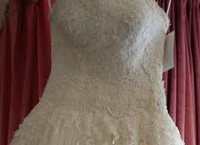 فستان اعراس تركي مستخدم مرة واحدة