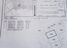 للبيع ارض صناعي في صحار في فلج العوهي 4