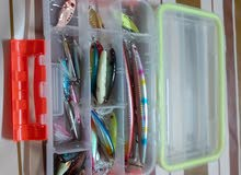 25 pcs  fishing lures mixed metal and plastic high quality