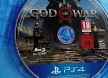 لعبة god of the war للبيع او التبديل