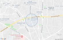ارض سكنيه موقعها ممتاز فى الحشان الحى خلف جامع بوزعينين
