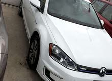 Volkswagen E-Golf 2016 For Rent - White color