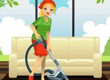 يوجد لدينا عاملات سرعات لتنضيف وترتيب المنازل
