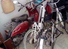 2 Bicyclettes Électriques Atala Et moto gareli