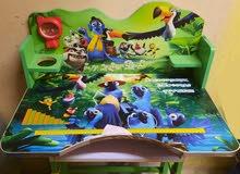 مكاتب للاطفال استعمال خفيف مع كراسي