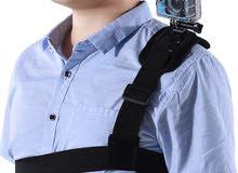 حزام تثبيت كاميرا رياضية للكتف go pro