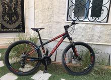 دراجة جبلية من شركة upland (( ماشاء الله ))