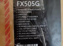 لابتوب ASUS TUF fx505gt-bq018 اخو الجديد اصلاََ مامستعمل فقط اشتريته وتركته