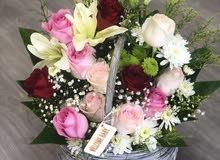 مطلوب منسق ورد وزهور وتغليف هدايا