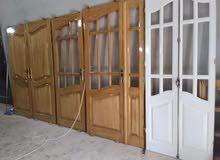 صناعة أبواب ونوافذ خشبية