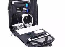 حقيبة ظهر جديدة (مكافحة لسرقة متعددة الوظائف مع منفد USB لشحن الهاتف )