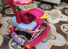 حجلة (مشاية) اطفال لون زهري