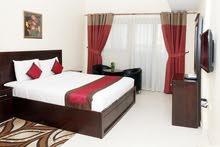 شقه غرفتين وصالة مفروش شامل الفواتير والانترنت مع باركن خاص نظام راقى