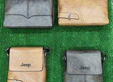 شنطة ماركة jeep جلد مستورد