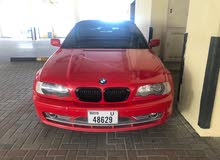 BMW Red Color 2003 convertible soft top 330CI full option for sale