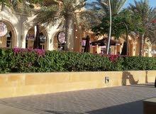 ارض التالة جاردان 3وجهات علي شارعين قريبه جدا من البحر مدينة الملك عبدالله الاقتصادية