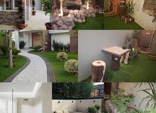 تنسيق وتصميم أجمل الحدائق مؤسسة مرتفعات عسير للمقاولات العامة 0503939585