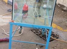 للبيع حوض جام هوا ولستان ماله و 4  غطاسات يصلح للسماك الزينه والسماك السمتي