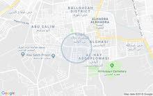محل للإيجار بمساحة 80 متر مربع  خلف جامع ابوشعالة