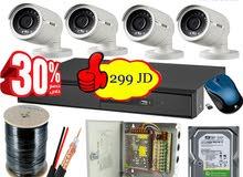 كاميرات مراقبه سام سونج شامل التركيب299 دينار