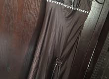 فستان لون بني