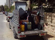 بكم صغير للنقل بكب لنقل الاغراض او غرف النوم او الكنب والسائق نجار