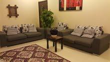 A set of 3  good quality sofas (3+2+1) for sale  طقم كنب بحالة ممتازة