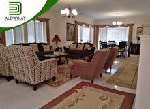 شقة مفروشة طابق ثاني للايجار في الاردن - عمان - ام السماق مساحة البناء 320 م