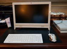 كمبيوتر ويندز 10 مستعمل اسبوع كيس داخلي مع الشاشه مو مشخط ولا مكسور جديد