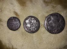 3 قطع نقديه اثريه ترجع للعصر الرومانى
