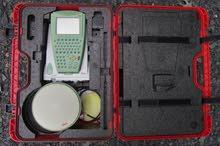 LEICA GPS 1200 GG كامل بجميع ملاحقته وراديو خارجي بيسف كرست 35 وات