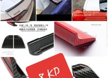 @cars_mods_q8  #kuwait#q8#spoiler#lip  Car carbon fiber wing universal tail/سيار