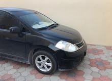 Black Nissan Tiida 2011 for sale