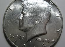 عملة نقدية امريكية قديمة 1968