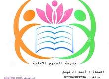 الاستاذ احمد الفيصل ( بكلوريوس فيزياء / دبلوم رياضيات )